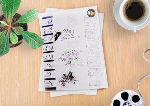 Идея на листе бумаги