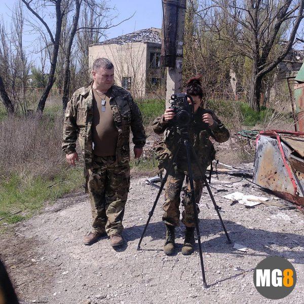 Съемка документального фильма на передовой украина ато