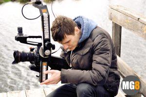кинооператор за работой